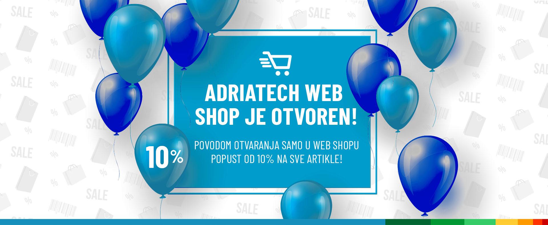 Adriatech Web shop